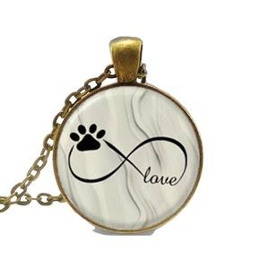 INFINITY PAW LOVE NECKLACE